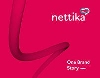 Nettika | brand identity