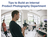 How to Build an Internal Product Photography Department