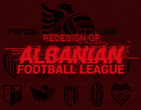 COMPLETE REDESIGN OF ALBANIAN FOOTBALL LEAGUE
