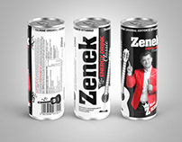 Can design - Zenek Energy Drink