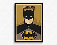 Batman - Charecter Movie Poster