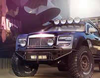 Rolls Royce Ghost Series IIII, luxury 4X4