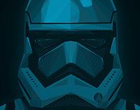 "STARWARS ""The Force Awakens"" Stormtrooper"
