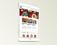 Pek Food WordPress Website v1