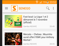 SENEGO Android app