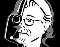 George Lucas Fan tshirt stamp tribute. Star Wars
