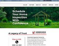 Responsive Service Website: Homecheck Inspections