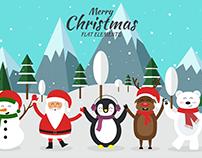 Merry Christmas - Flat Elements