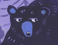 Bear Side-Eye for Backpacker Magazine
