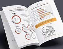 KelpHR | Corporate Infographic Survey Report Design
