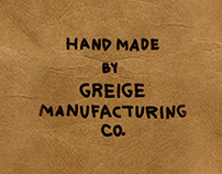Brand Development—Greige Menswear