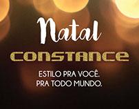 Flyer de Natal Constance