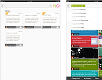 "Design ""FLO  Application"" for iPad"