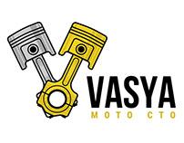 Motorcycle service logo