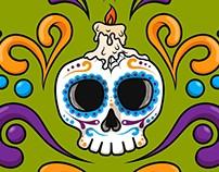 Wallpaper Día de los Muertos