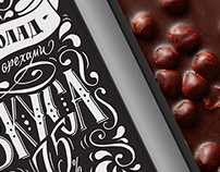 Chocolate packaging design / Hand lettering