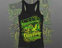 Cheer Pride Allstars - Emerald Tank Top