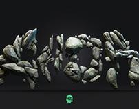 Rock Typography