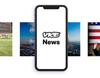 Vice News iOS & Android App Design