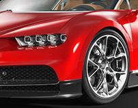 Bugatti Chiron (black studio)