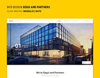 Segui and Partners Website