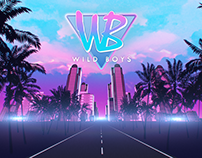 Wild Boys band stage visuals
