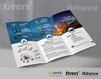 Tri-fold Brochure Template | Freebie