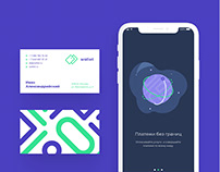 Corporate identity & application design of Wallet
