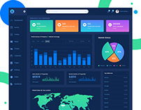 Real Estate Admin Dashboard Template
