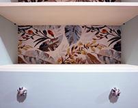 Restauración de mueble de habitación.