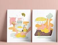 The Waffle Press | Illustration