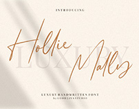FREE | Hollie Mally Signature Font