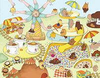 Amusement Park of Desserts