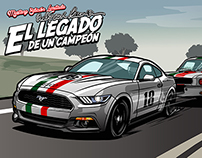 Ford Mustang 2015 Freddy Van Beuren Limited Edition