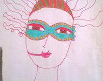 Máscara Color