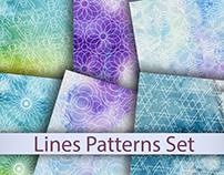 Transparent geometric patterns