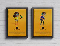 Advertisement Posters Mockup Free