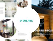 Solark webdesign concept