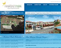 Habitat Park - Web Design