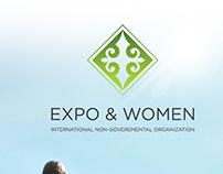 Разработка логотипа для организации Expo & Women.