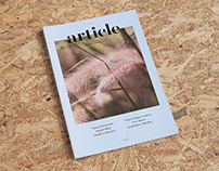 Article - Where Life Meets Land: Issue 02