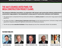 Construction Mega Project Landing Page