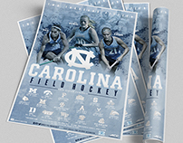 2015 Carolina Field Hockey Poster