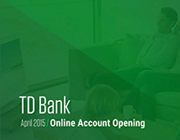 TD Bank Online Account Opening