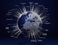 UK Exporting Globe - CGI