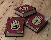 Gravity Falls Books 3D