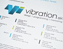 Vibration.sk - corporate identity