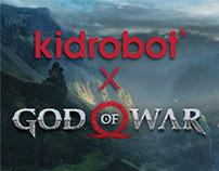 God of War Vinyl Mini Series