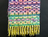hand-woven scarf collection