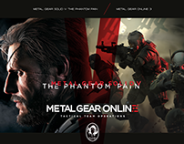 METAL GEAR SOLID V THE PHANTOM PAIN / METAL GEAR ONLINE